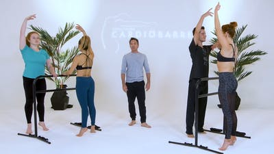 Instant Access to Beginner Class - White Studio with Richard by CARDIO BARRE, powered by Intelivideo
