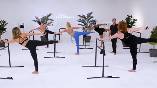Instant Access to Advanced Class - White Studio with Richard by CARDIO BARRE, powered by Intelivideo