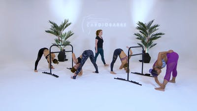Instant Access to Intermediate Class - White Studio with Caroline by CARDIO BARRE, powered by Intelivideo