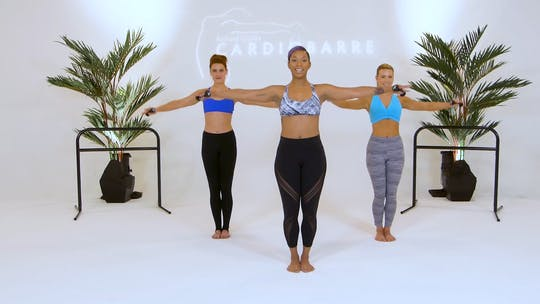 Instant Access to  by CARDIO BARRE, powered by Intelivideo