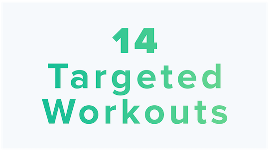 14 Targeted Workouts by BodyGym