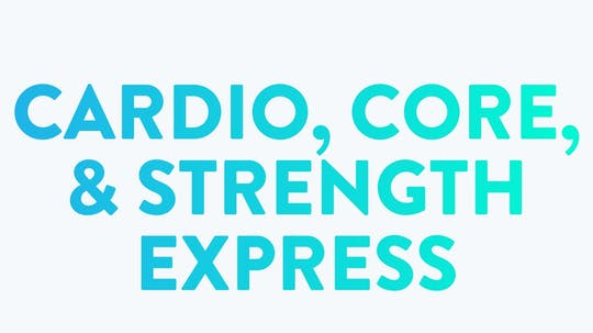 Cardio, Core, & Strength Express Video Package by BodyGym