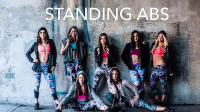 Standing Abs #14 (Cristina edition) by Body Conceptions by Mahri Studios LLC