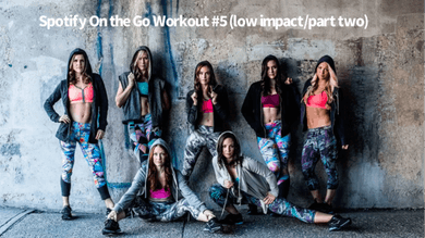 Spotify Workout #5 On the Go (low impact/part two) by Body Conceptions by Mahri Studios LLC
