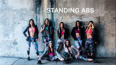 Standing Abs #15 by Body Conceptions by Mahri Studios LLC