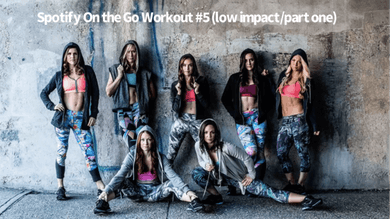 Spotify Workout #5 On the Go (low impact/part one) by Body Conceptions by Mahri Studios LLC