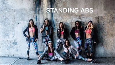 Standing Abs #16 (Sarah edition) by Body Conceptions by Mahri Studios LLC