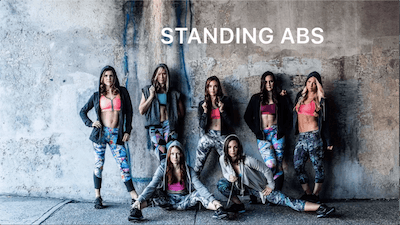 Standing Abs Spotify #1 by Body Conceptions by Mahri Studios LLC