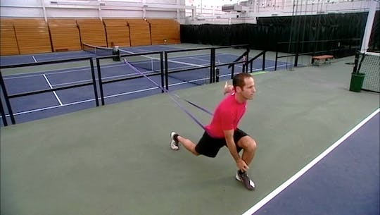 Instant Access to Tennis -  Introductory workout. by halfhourpower, powered by Intelivideo