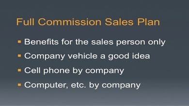 5: Full Commission Sales Plan by TRUST® Training and Coaching