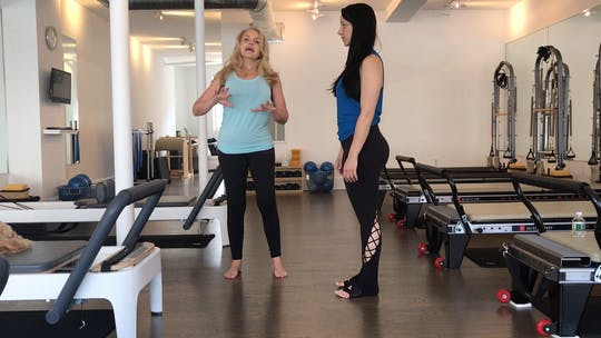 Instant Access to 15 Minute Standing Wake Up ~ For Mind, Body & Feet! by Pilates to Go with Zayna Gold, powered by Intelivideo