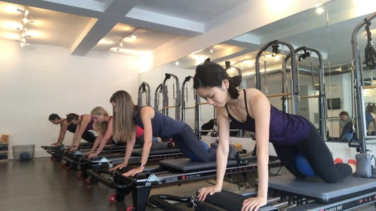 Instant Access to Advanced Reformer - Functional Approach.   July 29, 2017 - Part Two. by Pilates to Go with Zayna Gold, powered by Intelivideo