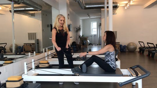 Instant Access to Basic Reformer - First 20 Apprentice Hours:  Part Two by Pilates to Go with Zayna Gold, powered by Intelivideo