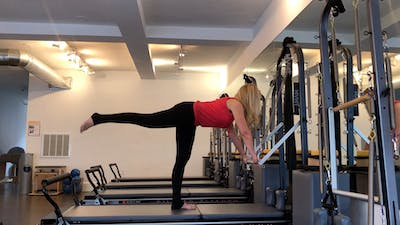 Barre Legs - Hip Extension (without verbal cues) by Zayna Gold Online