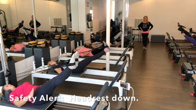 Int. Reformer Layers & Preps.  Short Spine Massage. by Zayna Gold Online