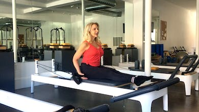 Intermediate Reformer: Front Rowing-Round Back. Progressions & Layers.mp4 by Zayna Gold Online
