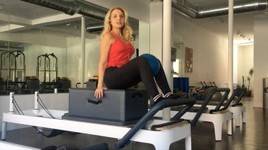 Intermediate Reformer: Front Rowing-Round Back. Progressions & Layers #2.mp4 by Zayna Gold Online