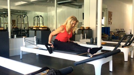 Instant Access to Advanced Reformer: Front Rowing by Zayna Gold Online, powered by Intelivideo