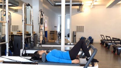 Reformer One: 3 Reps to Move: #1 Footwork through Supine Arms by Zayna Gold Online