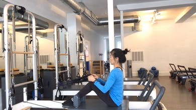 Reformer One: 3 Reps to Move: #2 Rolldowns through Kneeling Abdominals by Zayna Gold Online