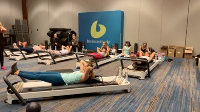 Layering Advanced Reformer Footwortk Dynamic Warm Up by Zayna Gold Online