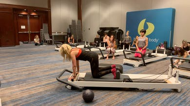 Layering Advanced Reformer Kneeling Abs Face Front/Down Stretch by Zayna Gold Online