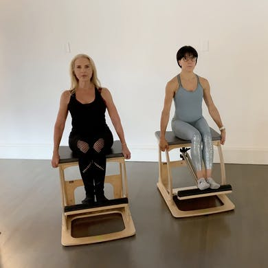 Chair Intermediate Workout #1 by Zayna Gold Online