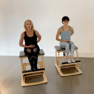 Chair Intermediate Workout #2 by Zayna Gold Online