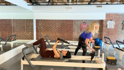 Reformer Mentoring: #4 Supine Arm Work by Zayna Gold Online