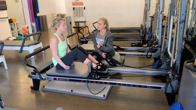 Reformer Mentoring: #5b Rolldown with Arms Facing Back by Zayna Gold Online
