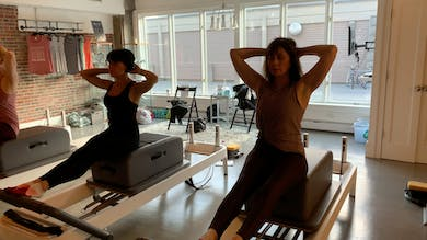 MultiLevel Reformer Backstroke. by Zayna Gold Online