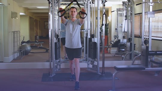 Instant Access to TRX-tension Arm Workout At The Gym by Club Pilates, powered by Intelivideo