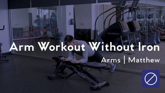 Get access to Arm Workout Without Iron by Club Pilates