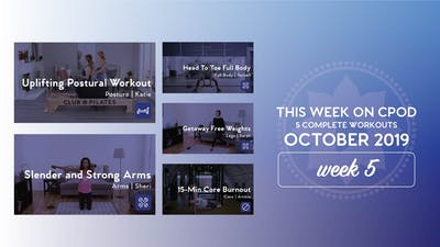 This Week on Club Pilates On Demand | October 2019 | Week 5 by Club Pilates