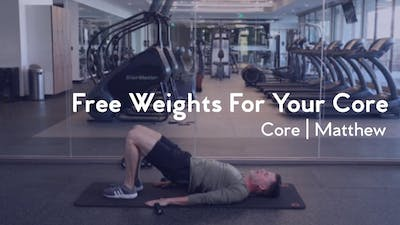 Free Weights For Your Core by Club Pilates