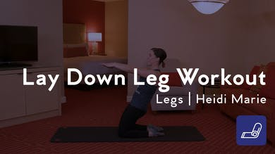 Lay Down Leg Workout by Club Pilates