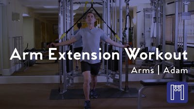 Arm Extension Workout by Club Pilates