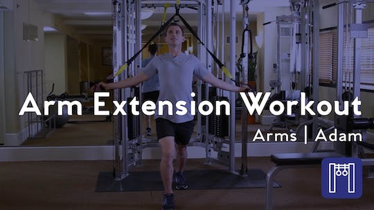 Instant Access to Arm Extension Workout by Club Pilates, powered by Intelivideo