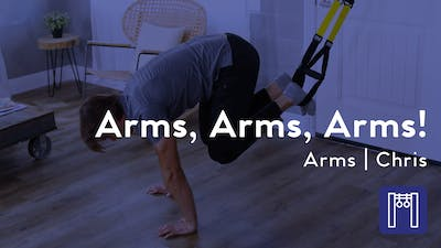 Instant Access to Arms,  Arms, Arms! TRX Required by Club Pilates, powered by Intelivideo