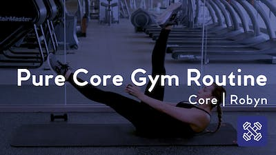 Pure Core Gym Routine by Club Pilates