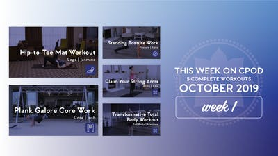 This Week on Club Pilates On Demand | October 2019 | Week 1 by Club Pilates
