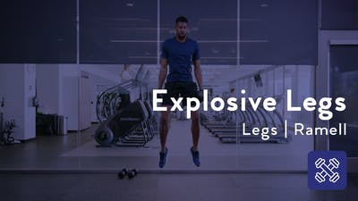 Explosive Legs With Weights by Club Pilates