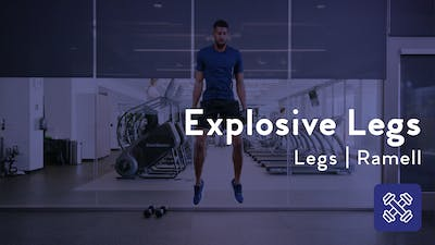 Instant Access to Explosive Legs With Weights by Club Pilates, powered by Intelivideo