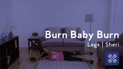 Instant Access to Burn Baby Burn, Leg Workout by Club Pilates, powered by Intelivideo