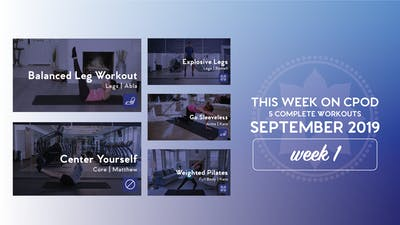 This Week on Club Pilates On Demand | September 2019 | Week 1 by Club Pilates