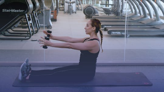 Instant Access to Pure Core Gym Routine by Club Pilates, powered by Intelivideo