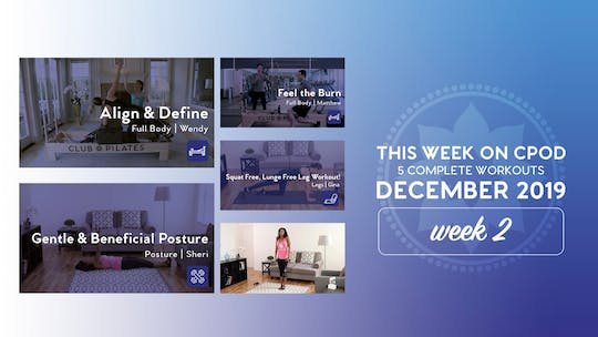 This Week on Club Pilates On Demand | December 2019 | Week 2 by Club Pilates