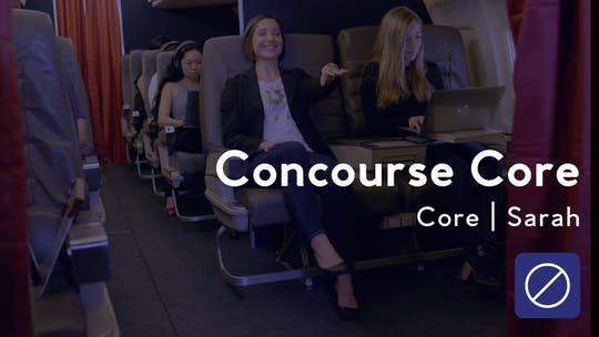 Get access to Concourse Core Workout by Club Pilates