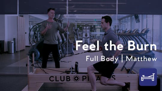 Instant Access to Feel the Burn Full Body Workout by Club Pilates, powered by Intelivideo