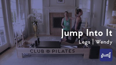 Instant Access to Jump Into It Reformer Workout by Club Pilates, powered by Intelivideo